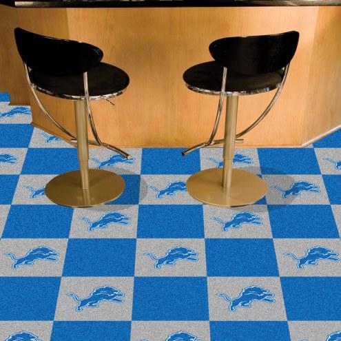 Detroit Lions Team Carpet Tiles