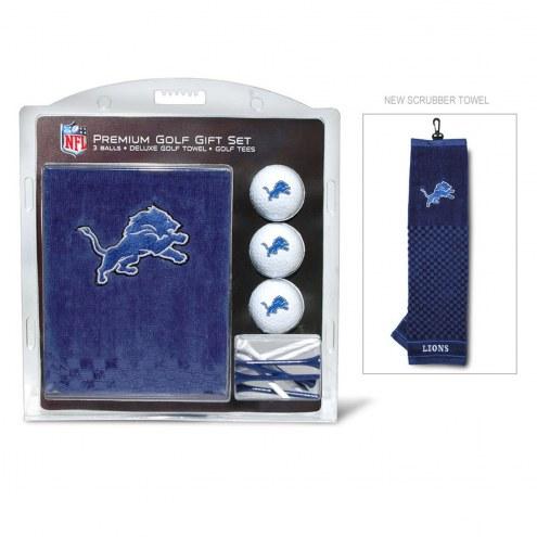 Detroit Lions Golf Gift Set