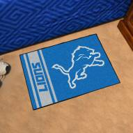 Detroit Lions Uniform Inspired Starter Rug