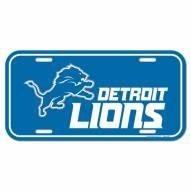 Detroit Lions License Plate
