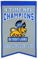 Detroit Lions Champs Banner