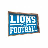 Detroit Lions Wooden Serving Tray