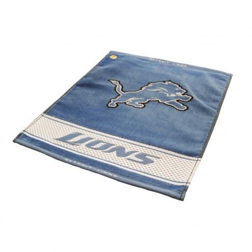 Detroit Lions Woven Golf Towel