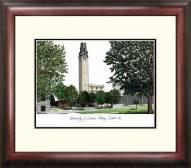 Detroit Mercy Titans Alumnus Framed Lithograph