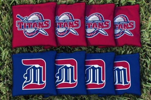 Detroit Mercy Titans Cornhole Bag Set