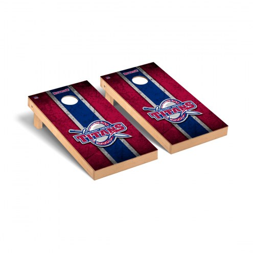 Detroit Mercy Titans Vintage Cornhole Game Set