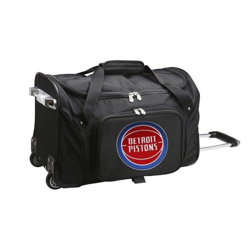 "Detroit Pistons 22"" Rolling Duffle Bag"