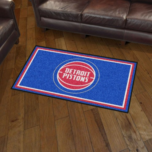 Detroit Pistons 3' x 5' Area Rug