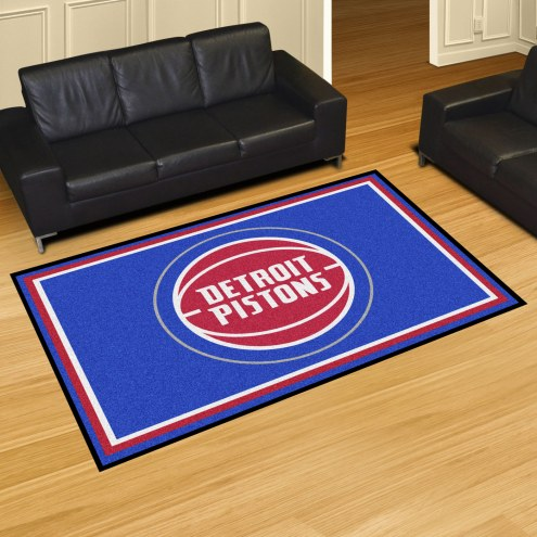 Detroit Pistons 5' x 8' Area Rug