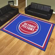 Detroit Pistons 8' x 10' Area Rug