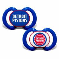 Detroit Pistons Baby Pacifier 2-Pack