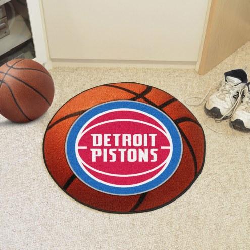 Detroit Pistons Basketball Mat
