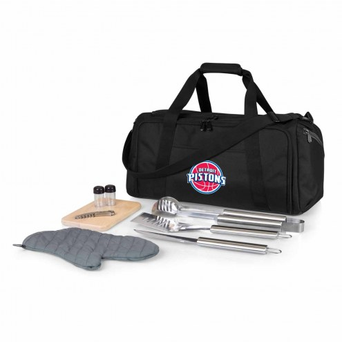Detroit Pistons BBQ Kit Cooler