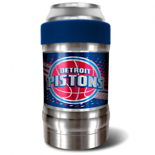 Detroit Pistons Blue 12 oz. Locker Vacuum Insulated Can Holder