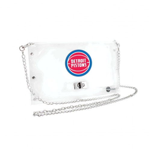 Detroit Pistons Clear Envelope Purse