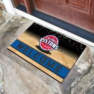 Detroit Pistons Crumb Rubber Door Mat