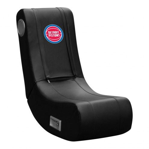 Detroit Pistons DreamSeat Game Rocker 100 Gaming Chair