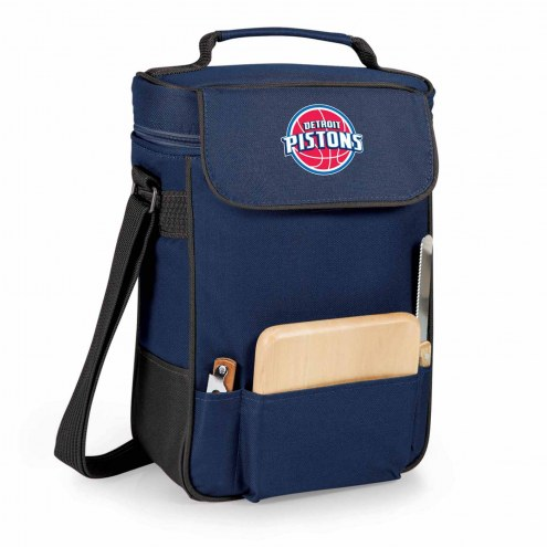 Detroit Pistons Duet Insulated Wine Bag
