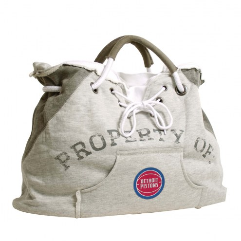 Detroit Pistons Hoodie Tote Bag