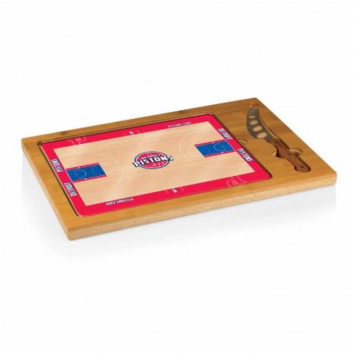 Detroit Pistons Icon Cutting Board