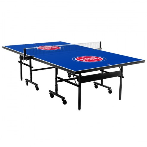Detroit Pistons Indoor Ping Pong Table