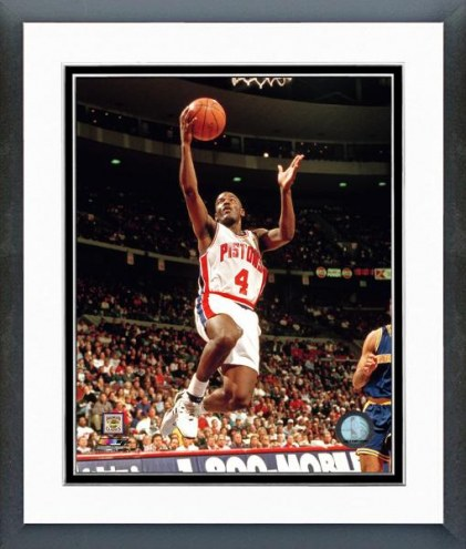 Detroit Pistons Joe Dumars Action Framed Photo