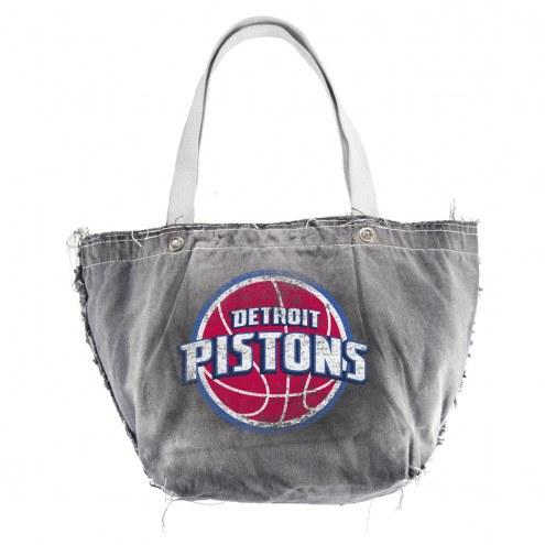 Detroit Pistons Vintage Tote Bag