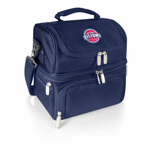 Detroit Pistons Navy Pranzo Insulated Lunch Box