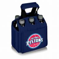 Detroit Pistons Navy Six Pack Cooler Tote