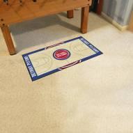 Detroit Pistons NBA Court Runner Rug