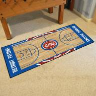 Detroit Pistons NBA Court Runner Rug