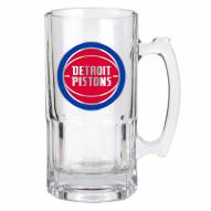 Detroit Pistons NBA 1 Liter Glass Macho Mug
