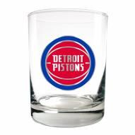 Detroit Pistons NBA 2-Piece 14 Oz. Rocks Glass Set