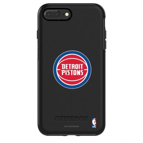 Detroit Pistons OtterBox iPhone 8/7 Symmetry Black Case
