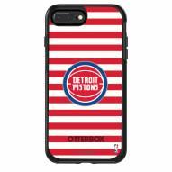 Detroit Pistons OtterBox iPhone 8/7 Symmetry Stripes Case