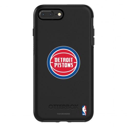 Detroit Pistons OtterBox iPhone 8 Plus/7 Plus Symmetry Black Case