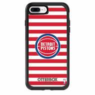 Detroit Pistons OtterBox iPhone 8 Plus/7 Plus Symmetry Stripes Case