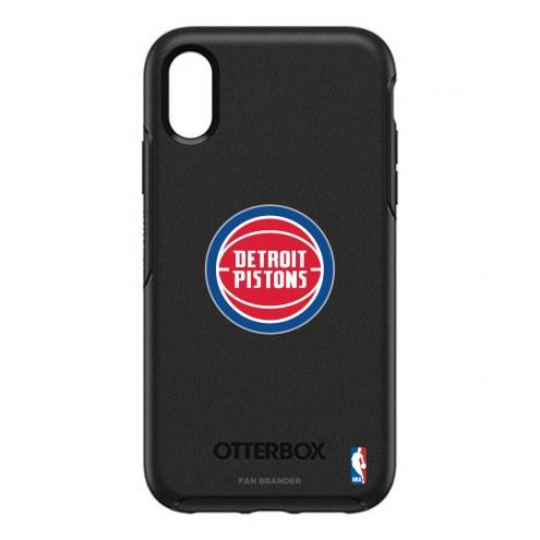 Detroit Pistons OtterBox iPhone XR Symmetry Black Case