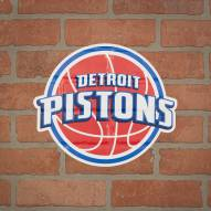 Detroit Pistons Outdoor Logo Graphic