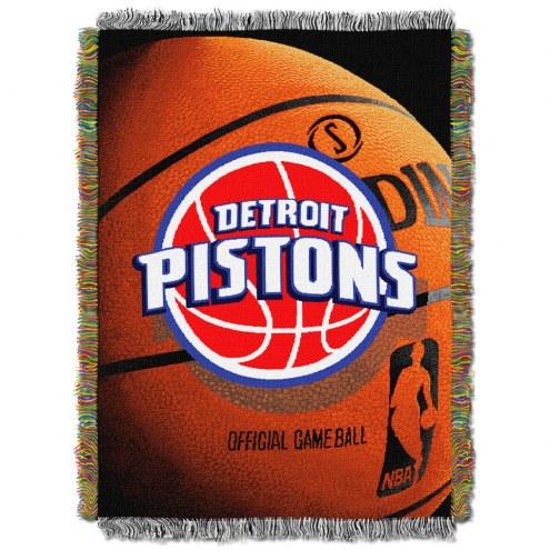 Detroit Pistons Photo Real Throw Blanket