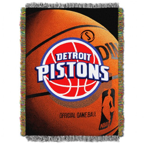 Detroit Pistons Photo Real Throw Blanket