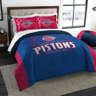 Detroit Pistons Reverse Slam Full/Queen Comforter Set