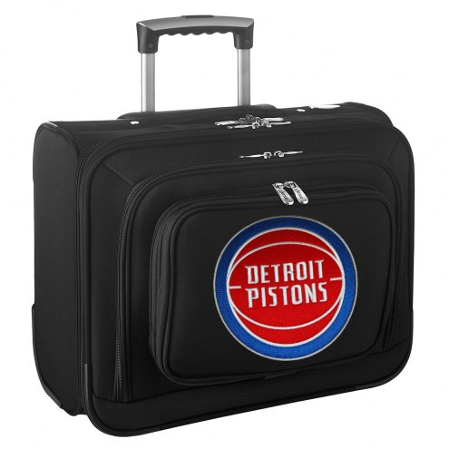 Detroit Pistons Rolling Laptop Overnighter Bag