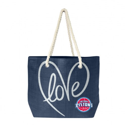 Detroit Pistons Rope Tote