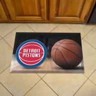 Detroit Pistons Scraper Door Mat