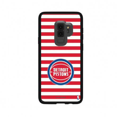 Detroit Pistons Speck Samsung Galaxy S9+ Presidio Stripes Case