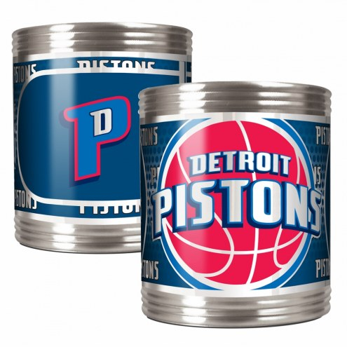 Detroit Pistons Stainless Steel Hi-Def Coozie Set