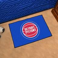 Detroit Pistons Starter Rug