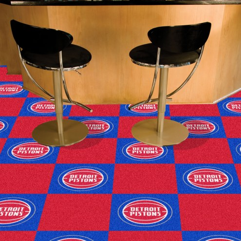 Detroit Pistons Team Carpet Tiles