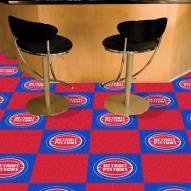 Detroit Pistons Team Carpet Tiles
